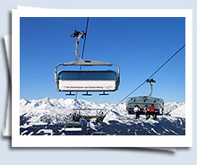 state of the art ski lifts and well groomed slopes